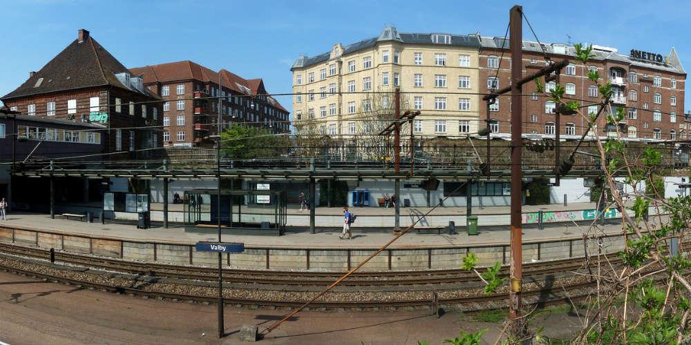 Låseservice på Valby station